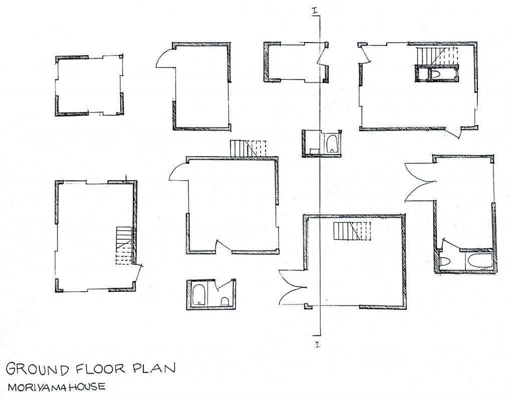 Ground Floor House Elevation Photos : Assignment moriyama house by sanaa frederick s